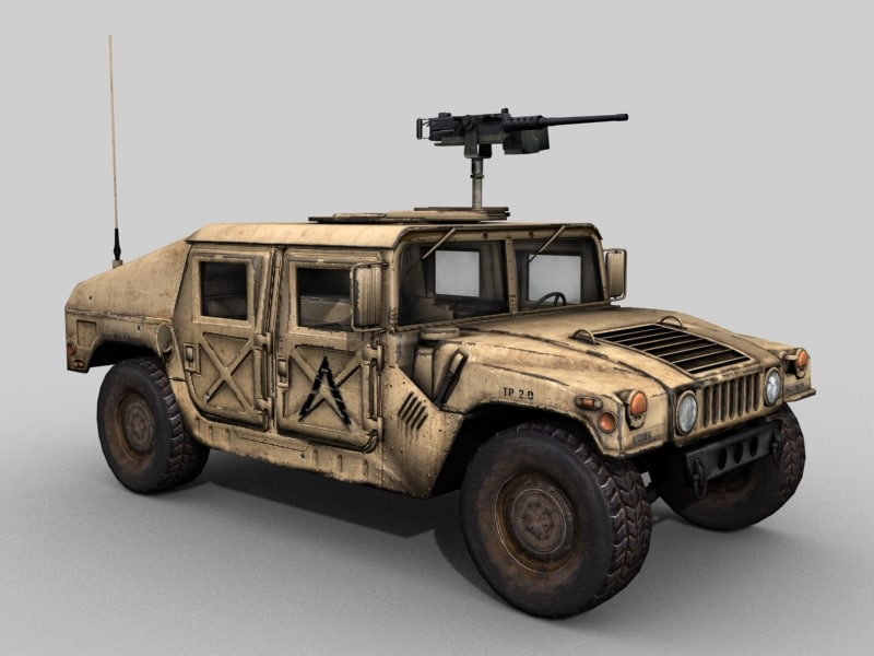 3d ultimate pack hmmwv bonus model