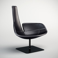 3d model moroso fjord chair