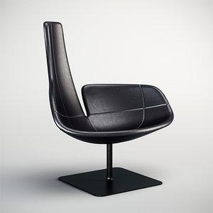 3d model moroso fjord chair