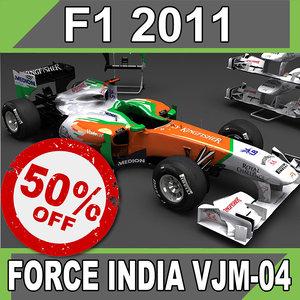 2011 force india vjm-04 obj