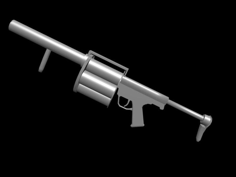 tactical grenade launcher obj