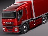 iveco stralis 2011 truck 3d 3ds