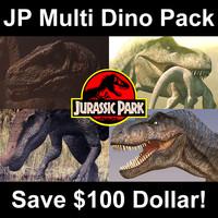 Jurassic Park - Multi Dino Pack