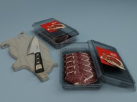 3d meat model