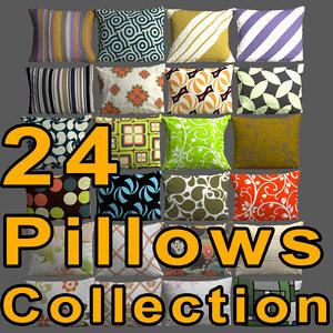 3d pillows seamless model