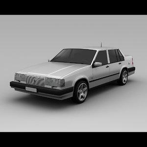 960 1993 3d model