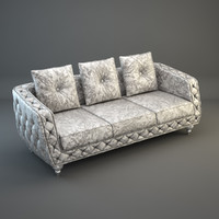 3 seater sofa capital 3d model