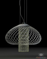wire lamp - style 3d 3ds