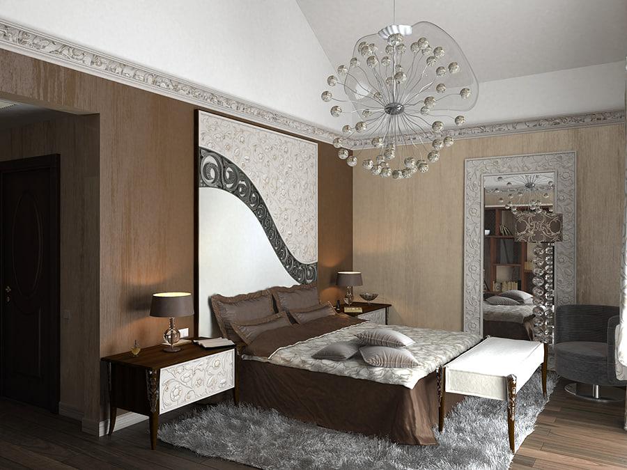 bedroom home 3d max