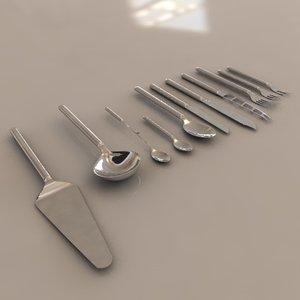 c4d cutlery