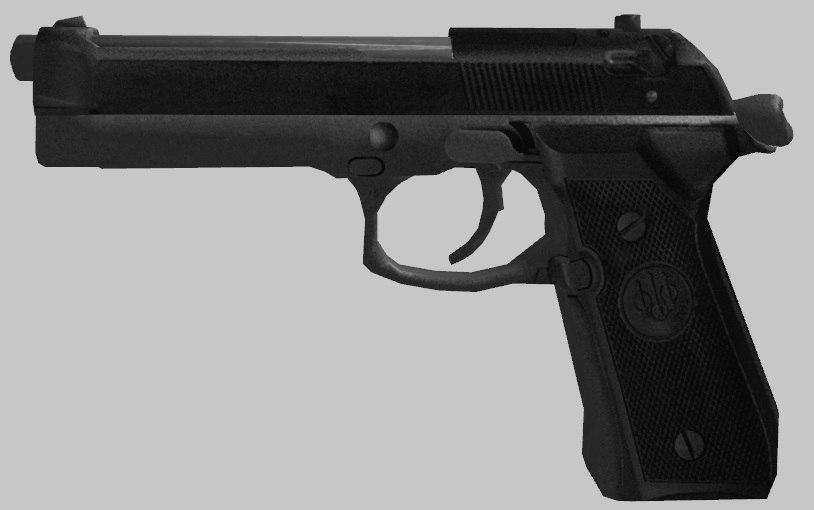 3ds m9 beretta 92 gun