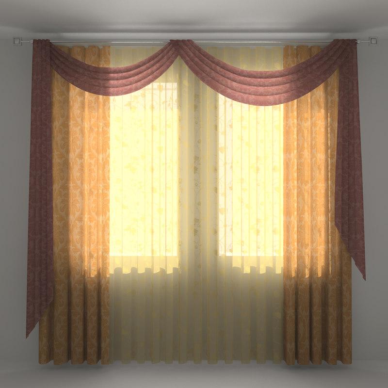 curtain 3d ma
