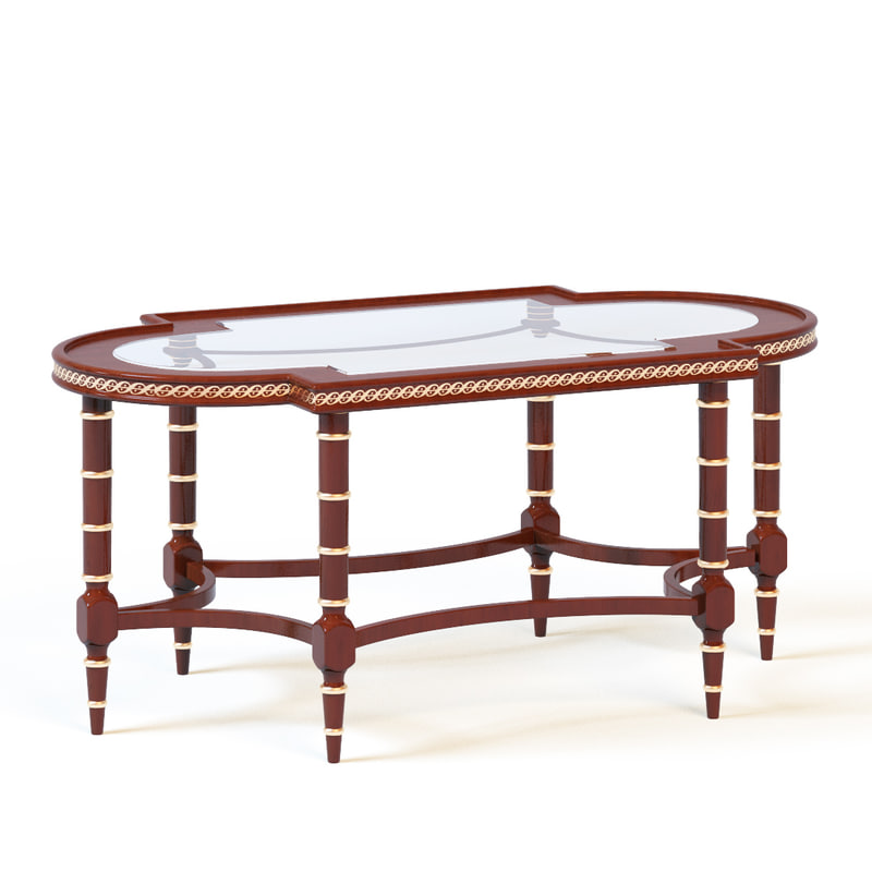 3ds max francesco molon table