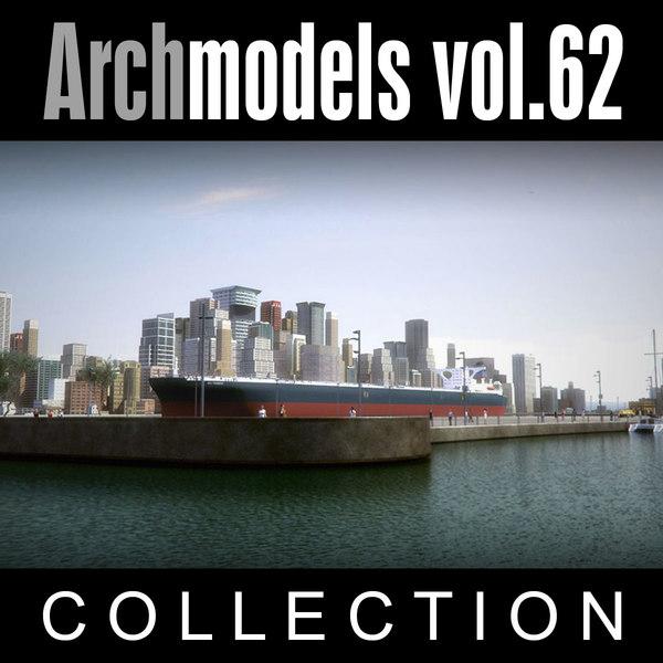 3d archmodels vol 62 buildings
