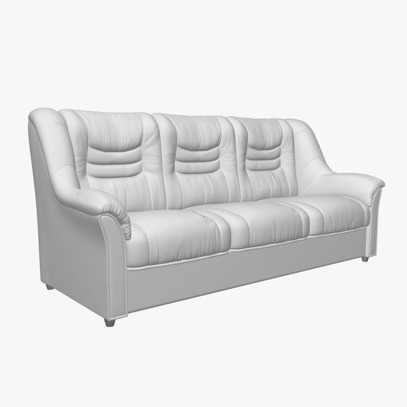 3d sofa v-ray