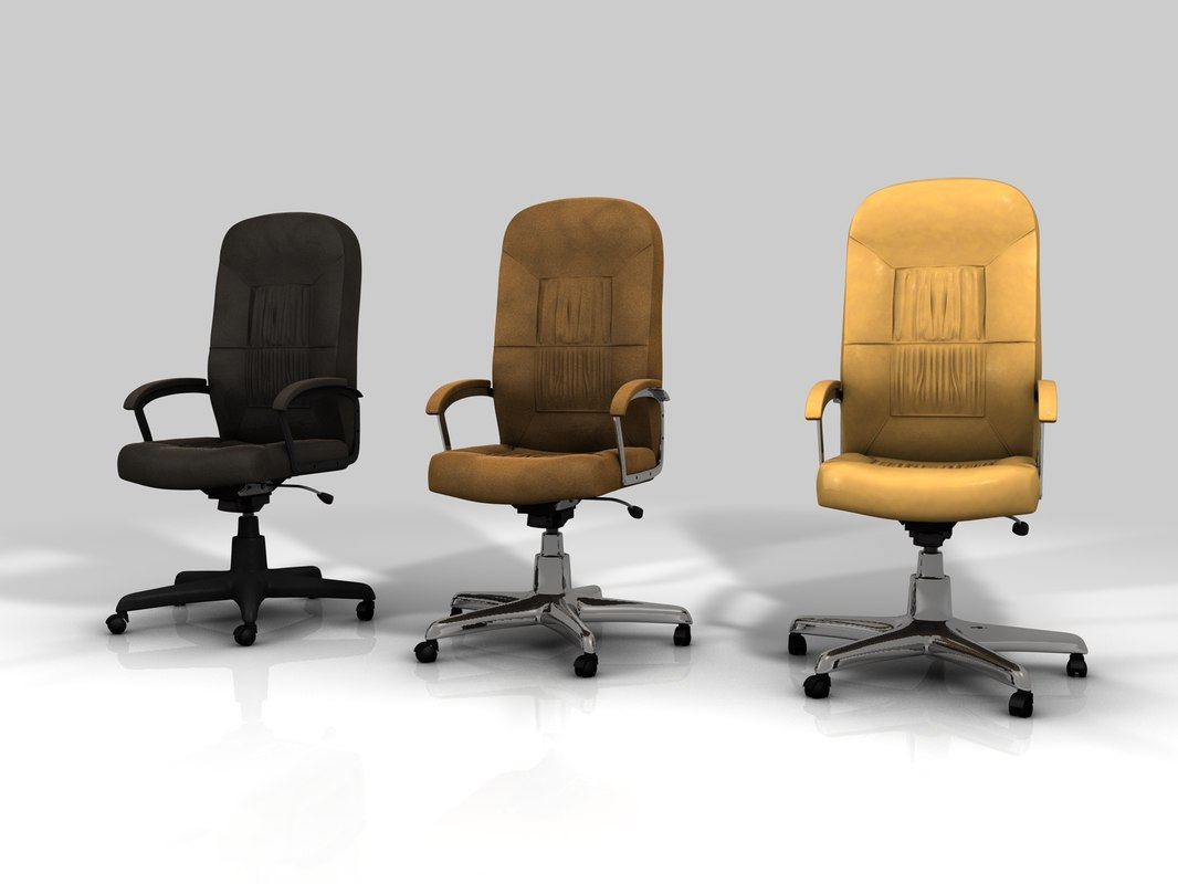 free obj mode chair office