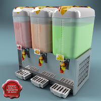 3d model cold drink dispenser v2