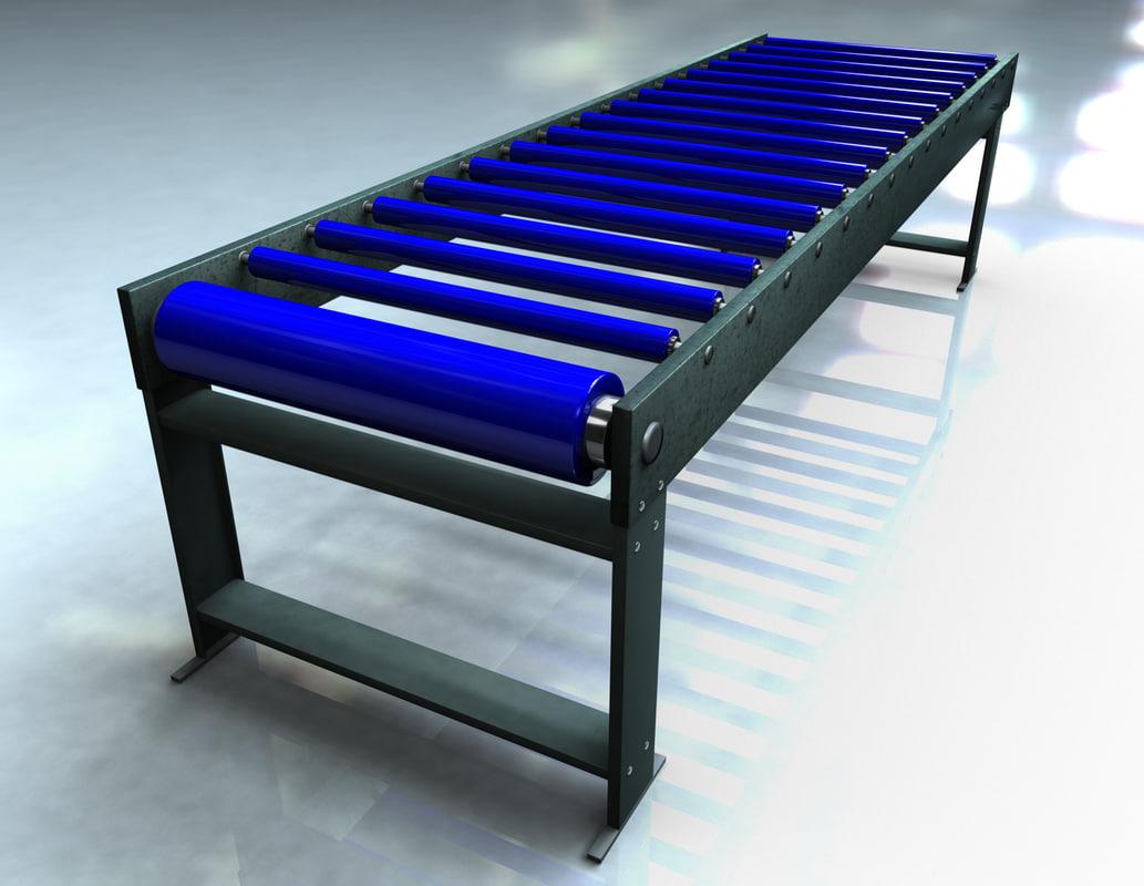 3ds max conveyor