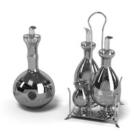 3d model decanter modern contemporary