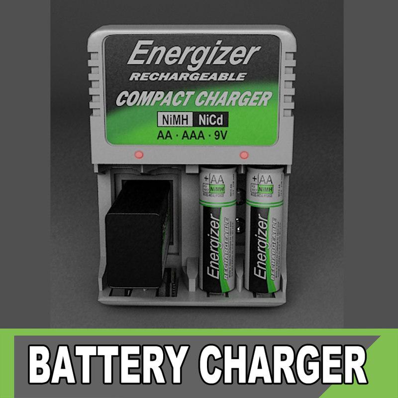 3d model energizer charger