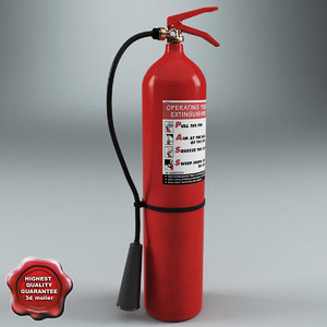 3d extinguisher v5 model