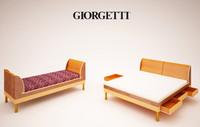 maya icaro giorgetti bed sofa