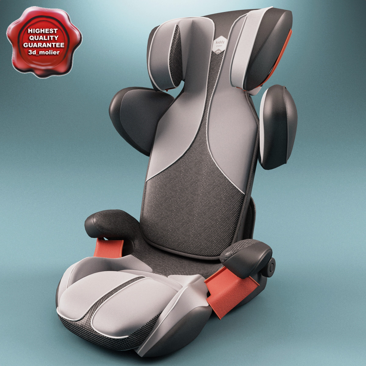 3dsmax kiddy car seat cruiser