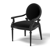 Lexington Black Ice Opal Chair  Dining Side