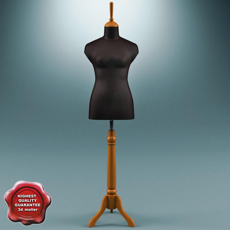 3ds mannequin female