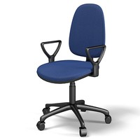 office chair executive 3d model