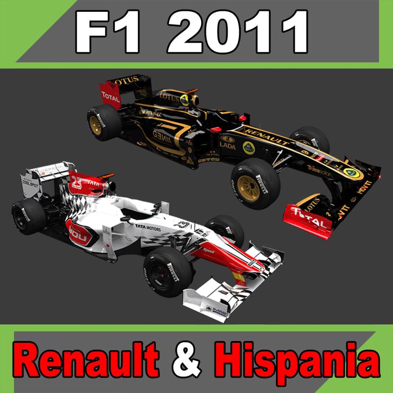 f1 1 hispania 3ds