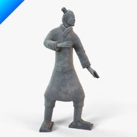 Terracotta Warriors-Standing Archer