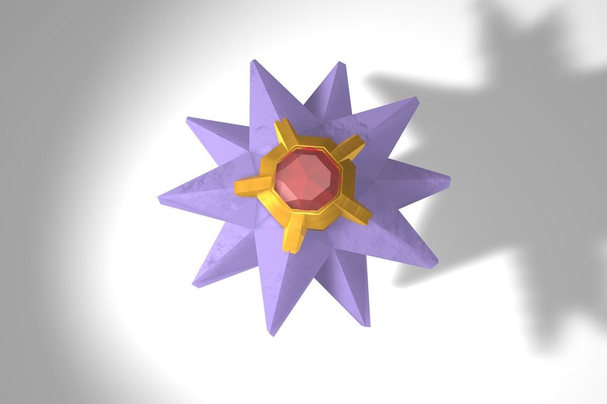 starmie pokemon 3d 3ds