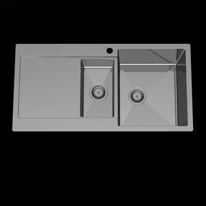 3d modern sink kitchen model