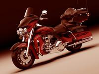 Harley Davidson Electra CVO 2011