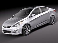 Hyundai Accent sedan 2012