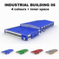 large industrial building 06 obj
