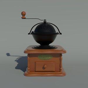coffee grinder 3d 3ds