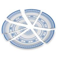 3d broken plate model