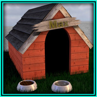 cinema4d dog kennel