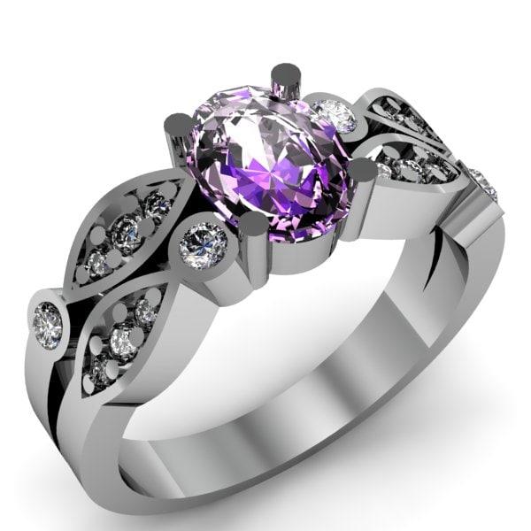 3d model ring jewelry