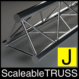 c4d scaleable adjustable traverse truss