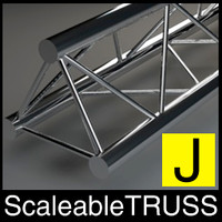 Truss, Traverse, ( adjustable in lenght and LOD )