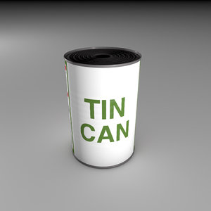 c4d tin label