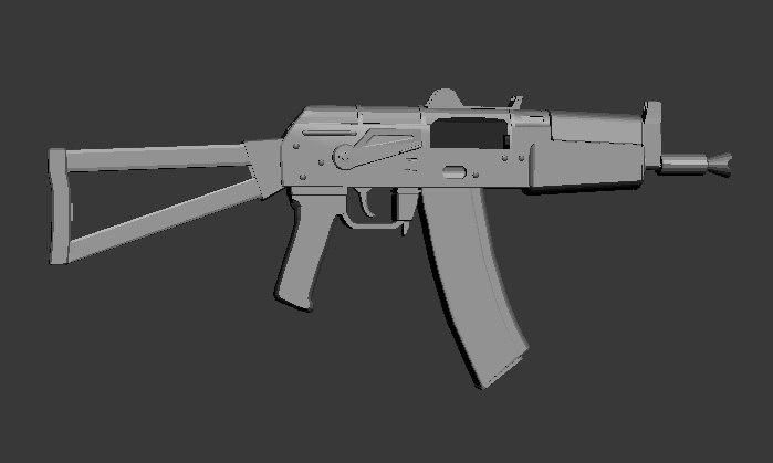 max ak-74u weapons