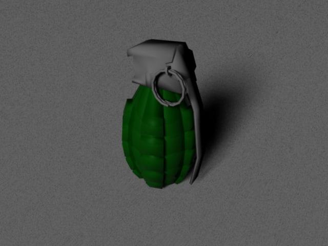 obj grenade object