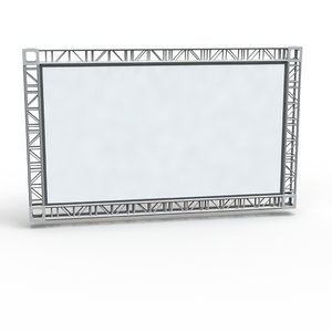 3d obj screen surround