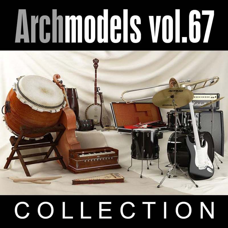 3d model archmodels vol 67