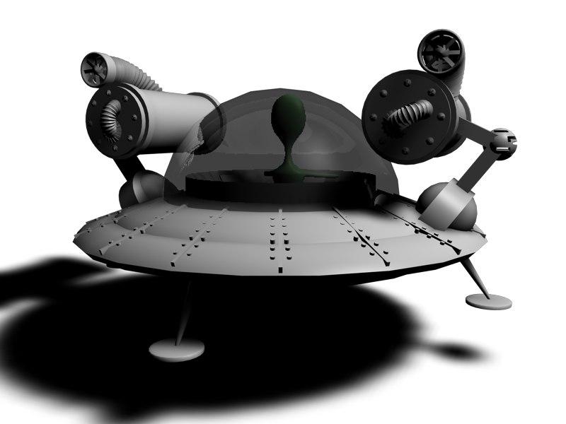 maya alien ship
