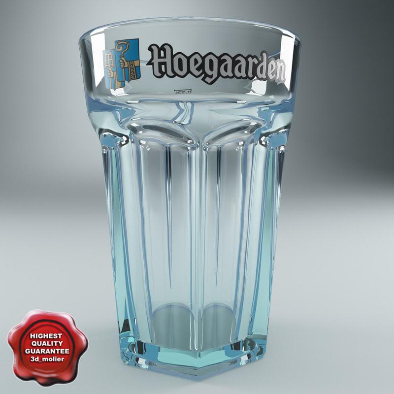 3d beer glass v3 model